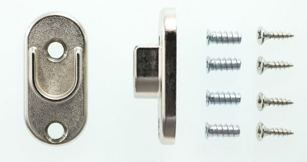 Clothes rod fixings